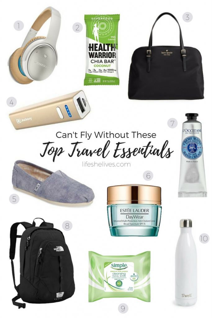 Cant Fly Without These Top 10 Travel Essentials