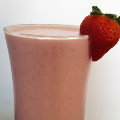 Super Simple Banana Berry Smoothie