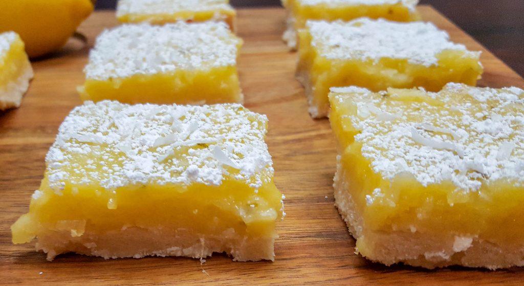 lemonbars3 1024x559 - Lemon Lime Bars With Shaved Coconut