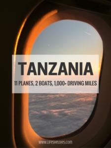 Tanzania: 11 Planes, 2 Boats, 1,000+ Driving Miles