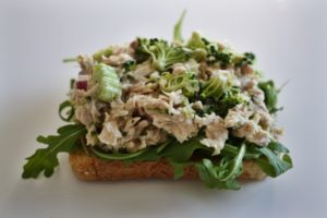 Classic Tuna Salad Lightened Up & With A Twist