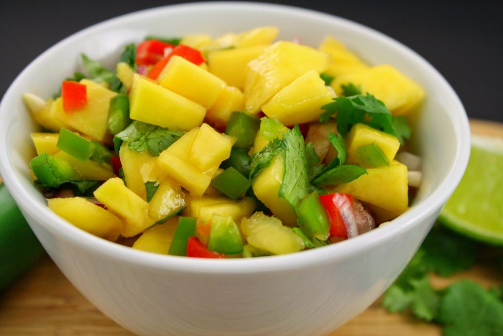 Quick & Easy Mango Salsa