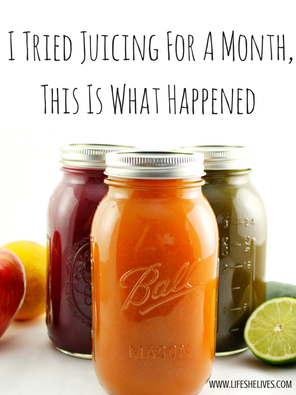I Tried Juicing For A Month, This Is What Happened