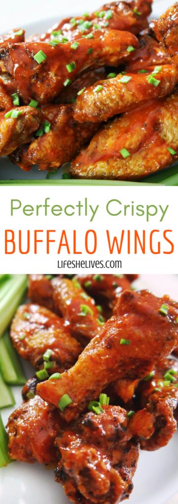 Perfectly Crispy Buffalo Wings