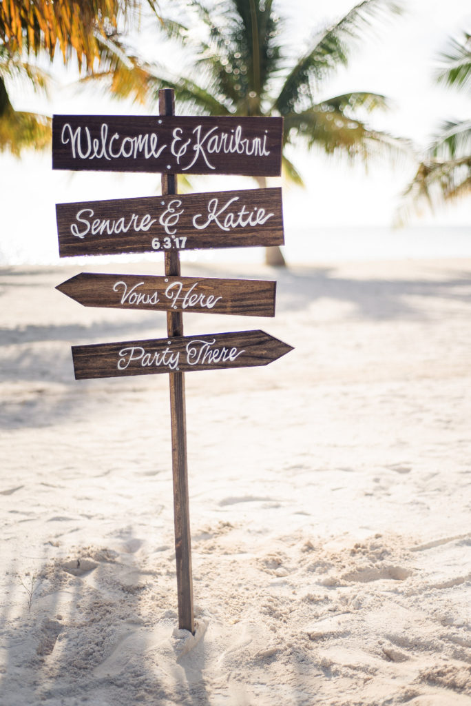 Our Rustic Beach Wedding In Grand Cayman [Decor]