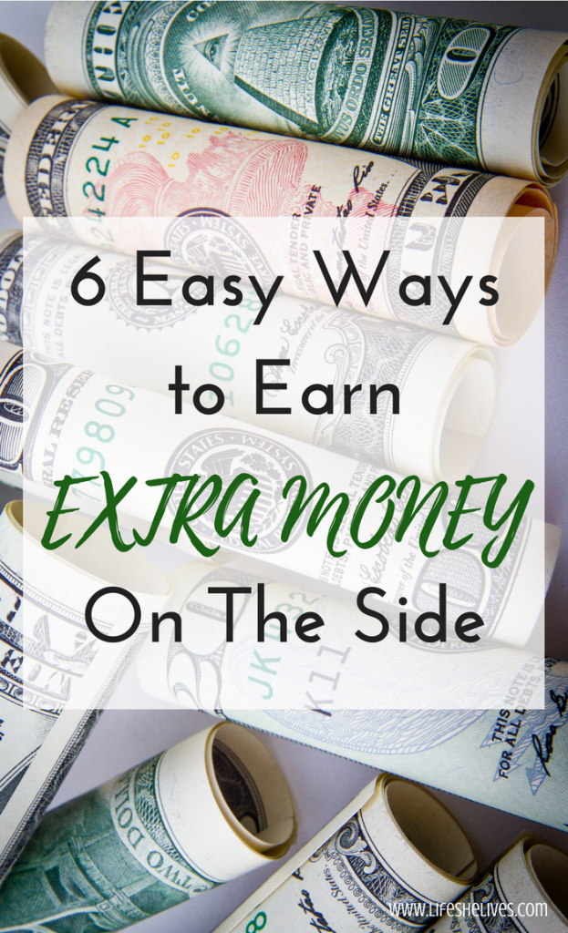 6 Easy Ways To Earn Extra Money On The Side