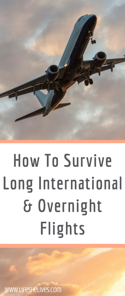 How To Survive Long International & Overnight Flights
