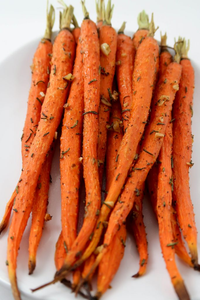 Rosemary and Garlic Roasted Carrots