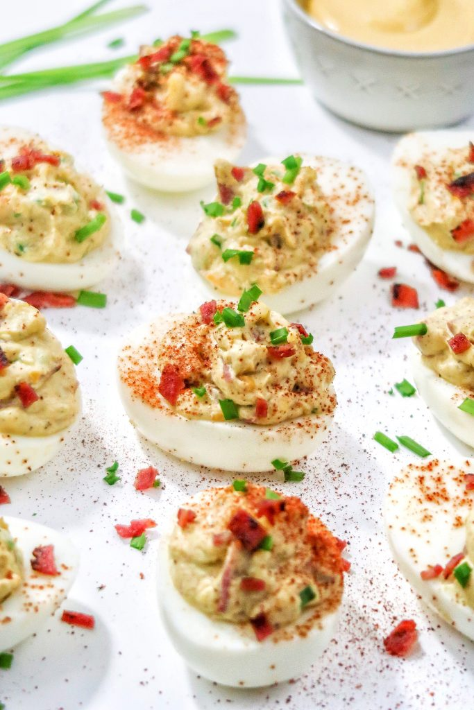 "loaded deviled eggs 10 683x1024 -""Loaded"" Deviled Eggs"