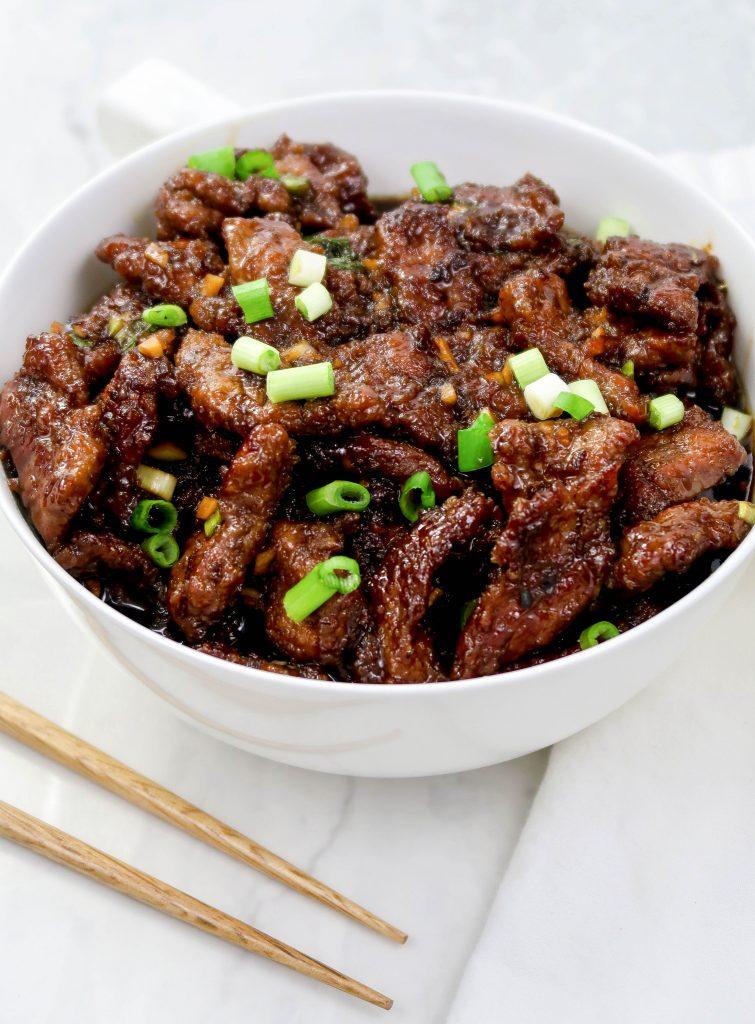 Crispy Mongolian Beef in 30 Minutes
