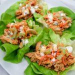 Kickin Buffalo Chicken Lettuce Wraps (Sous Vide)