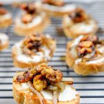 goat cheese crostini 2 150x150 - Goat Cheese Crostini with Candied Walnuts and Caramelized Onions