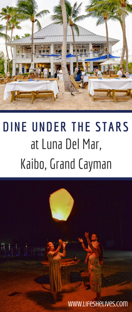 Dine Under the Stars at Luna Del Mar, Kaibo, Grand Cayman