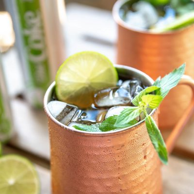 moscow mule 3 square 400x400 - Ginger Lime Moscow Mule with a Twist