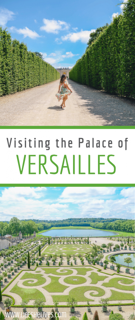 Visiting the Palace of Versailles