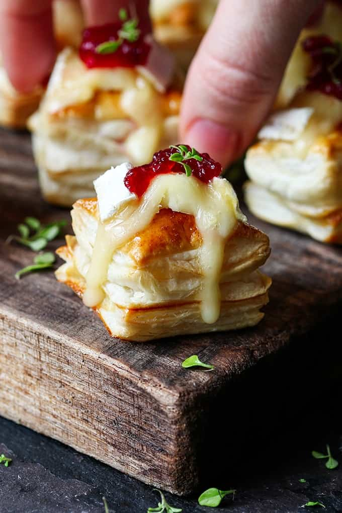 easy party appetizers in 30 minutes or less cranberry brie bites - 17 Easy Party Appetizers You Can Make in 30 Minutes or Less