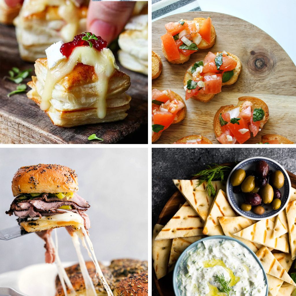 easy party appetizers in 30 minutes or less hero 1024x1024 - 17 Easy Party Appetizers You Can Make in 30 Minutes or Less
