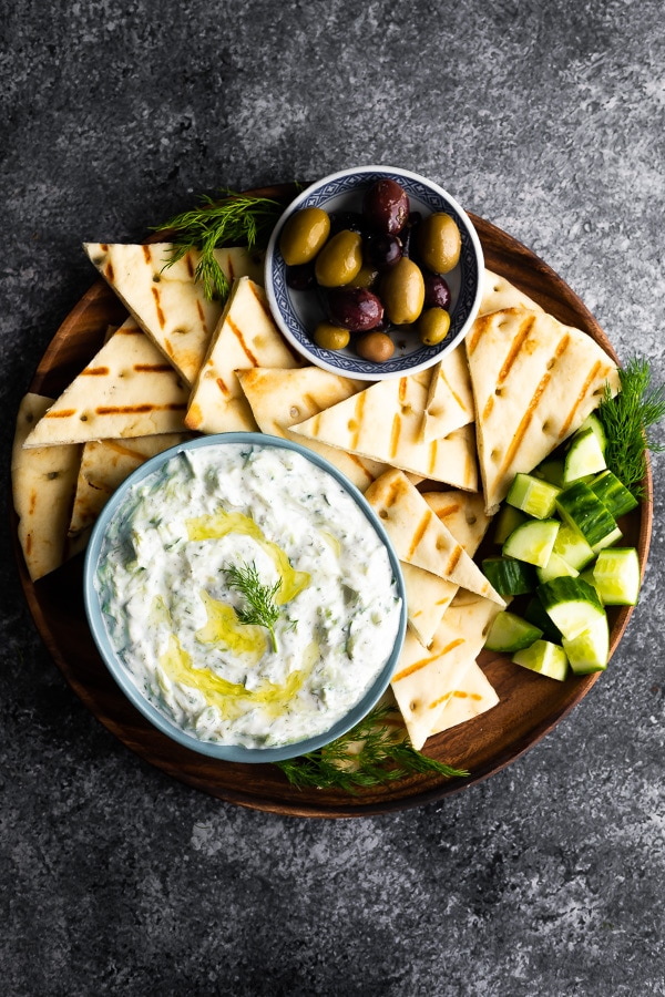 easy party appetizers in 30 minutes or less super speedy tzatziki - 17 Easy Party Appetizers You Can Make in 30 Minutes or Less