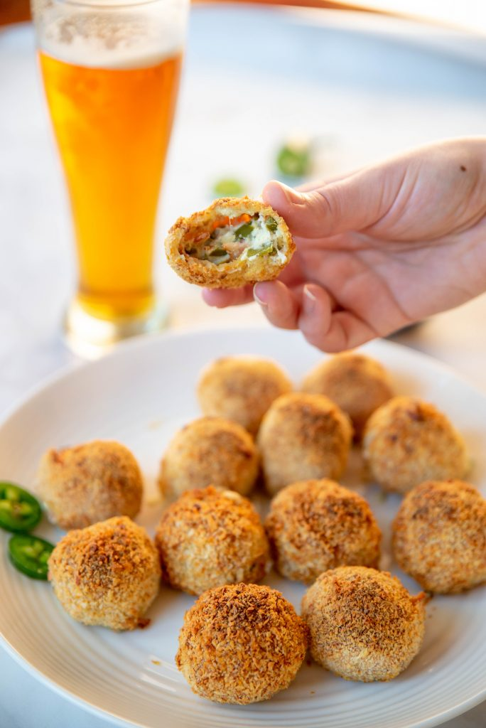 Crunchy & Gooey Air Fryer Jalapeno Popper Balls