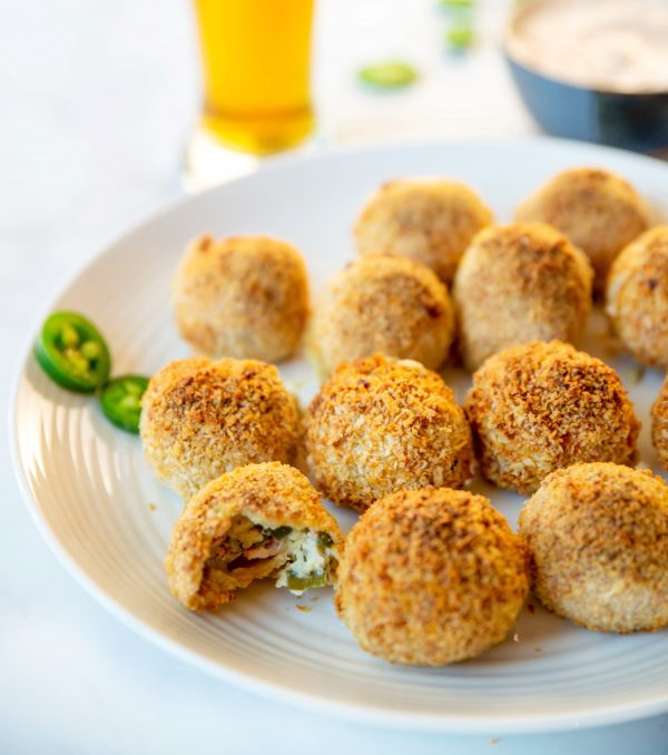 Crunchy & Gooey Air Fryer Jalapeno Popper Balls
