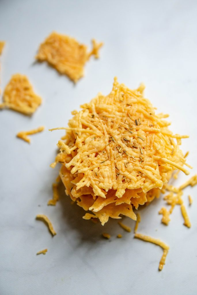 Rosemary Parmesan Crisps