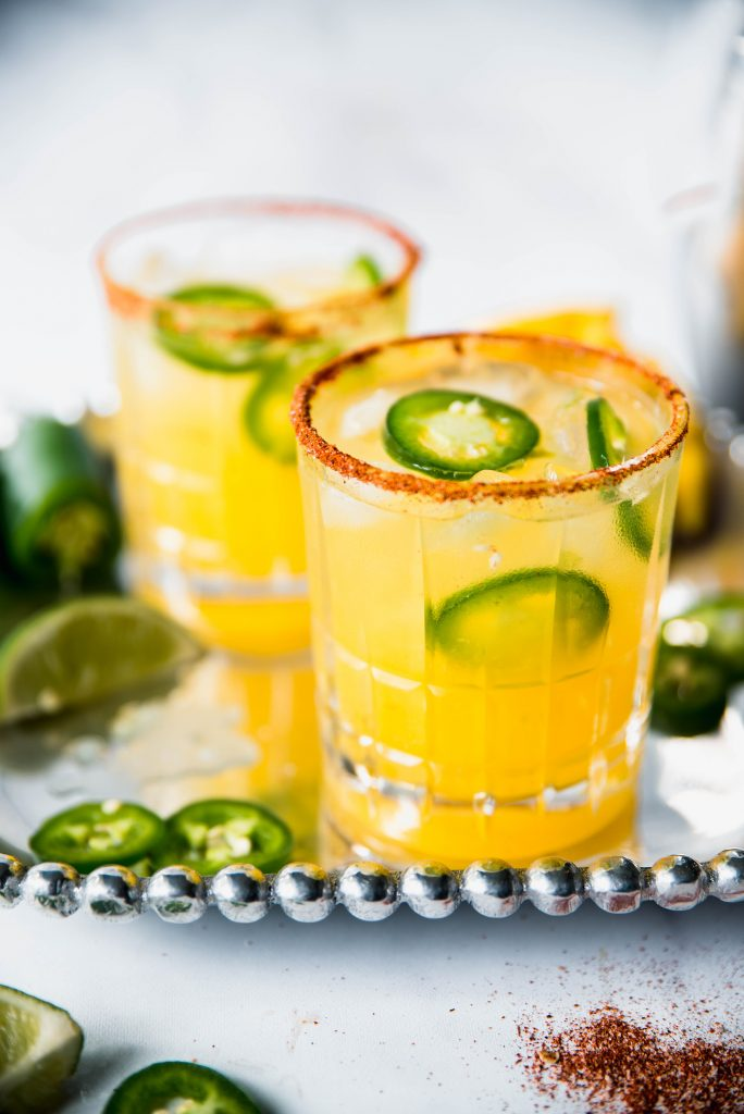 Spicy Margaritas 1 684x1024 - Spicy Mango Margaritas