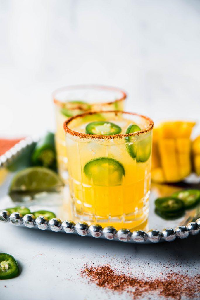 Spicy Margaritas 2 684x1024 - Spicy Mango Margaritas